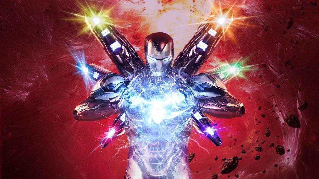 Железный человек в эндшпиле Мстителей обои скачать