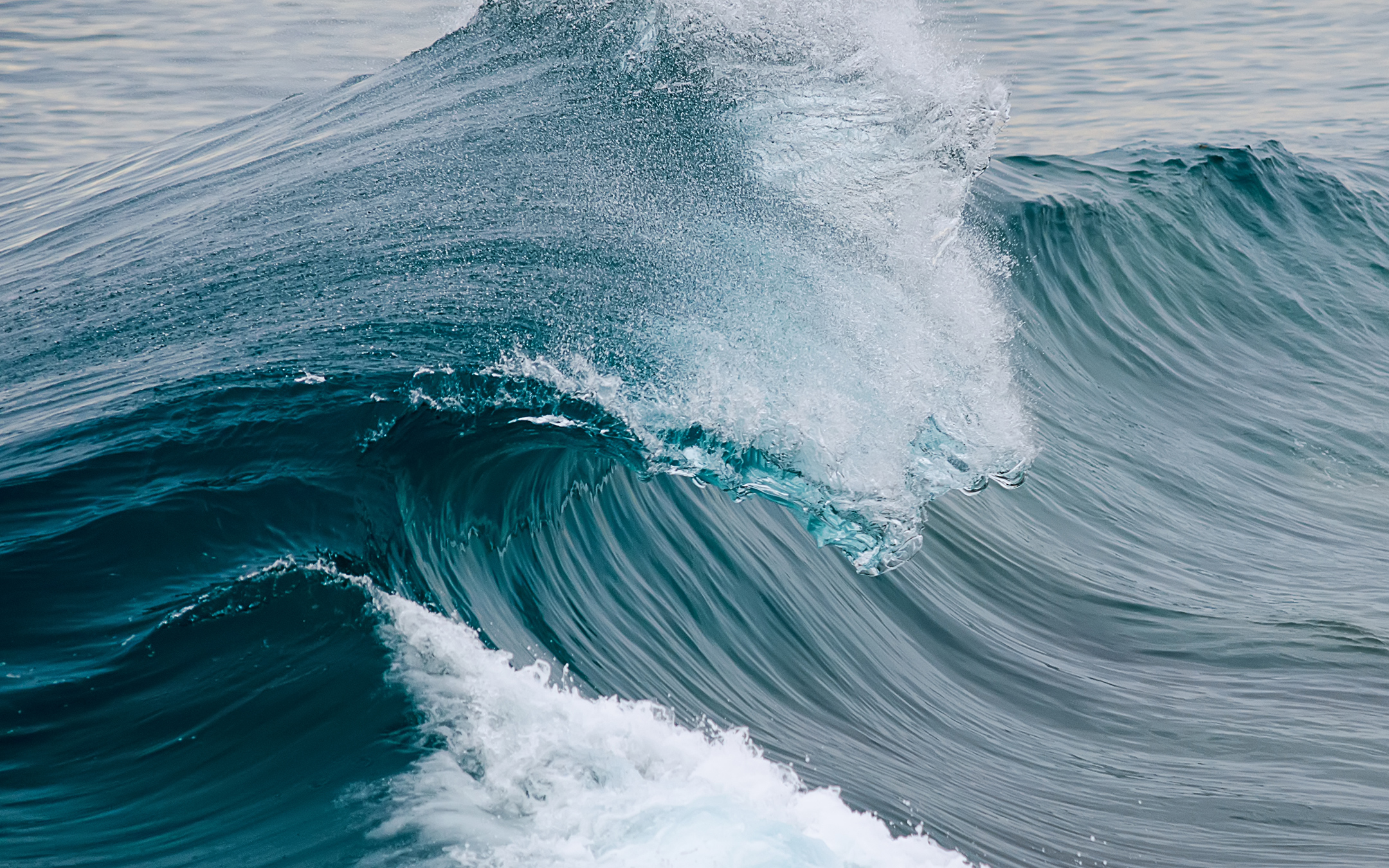 Океанская волна обои скачать