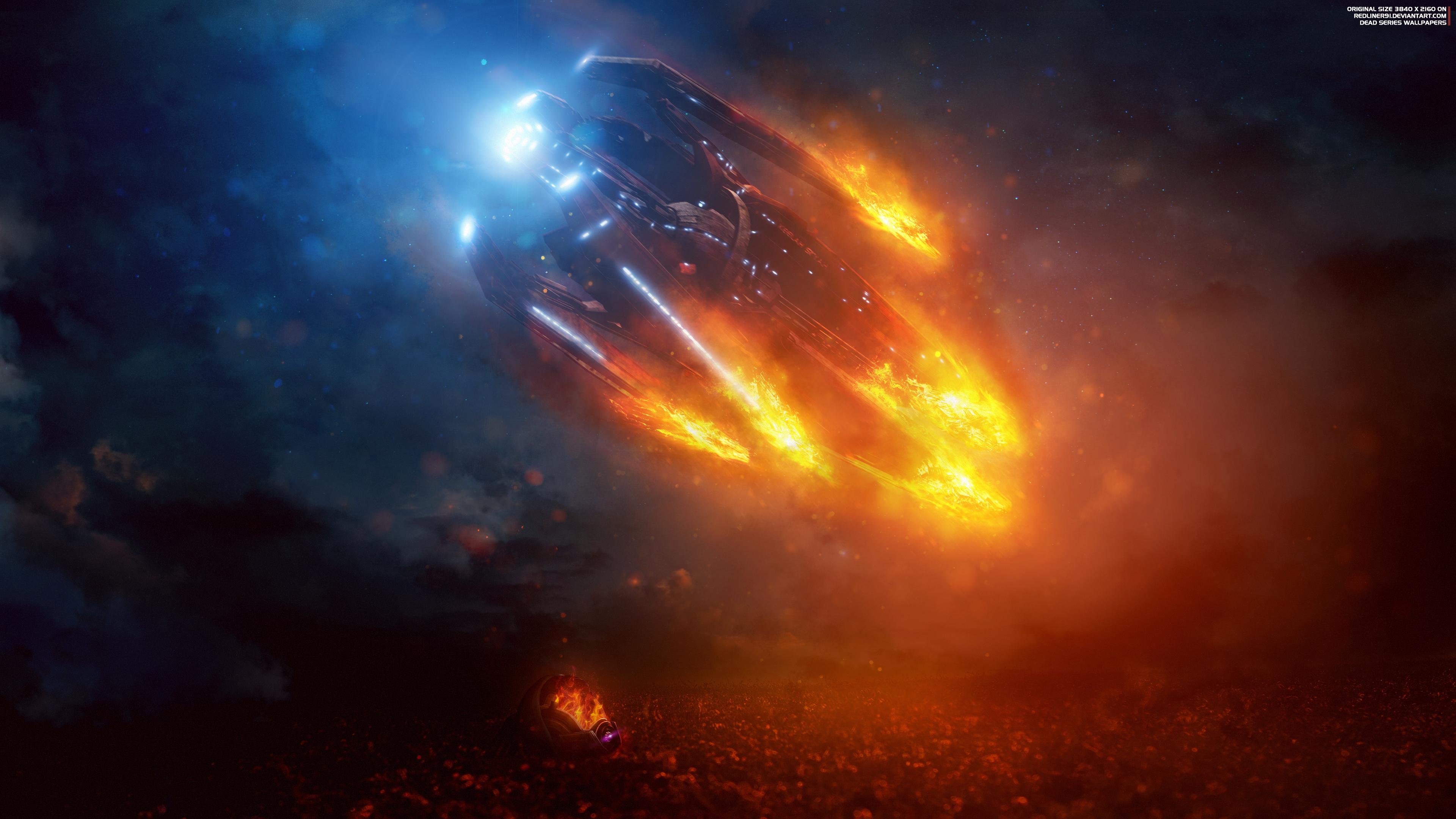 Потерянный ковчег mass effect Андромеда обои скачать
