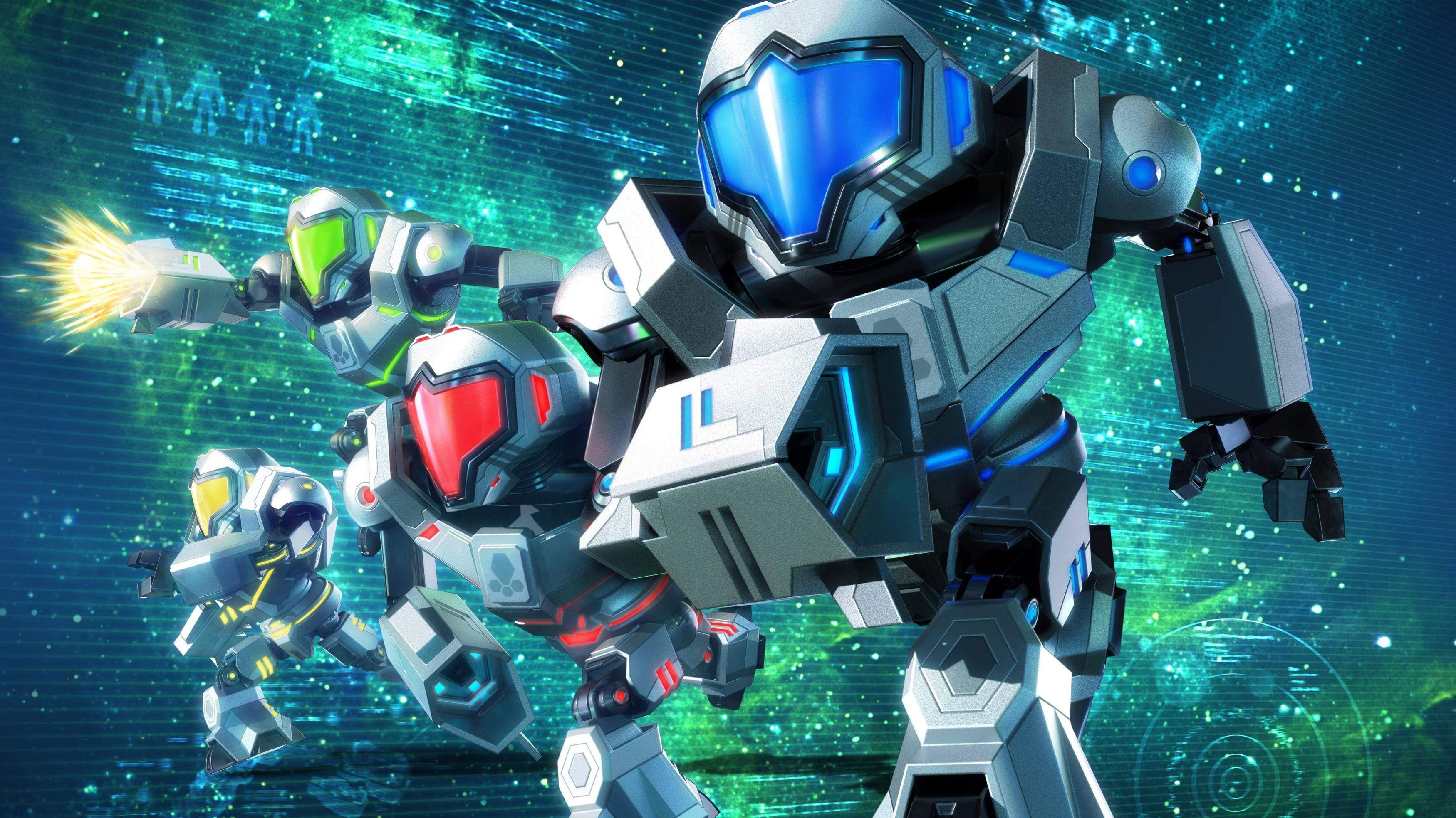 Metroid Prime Federation Force Nintendo 3DS обои скачать