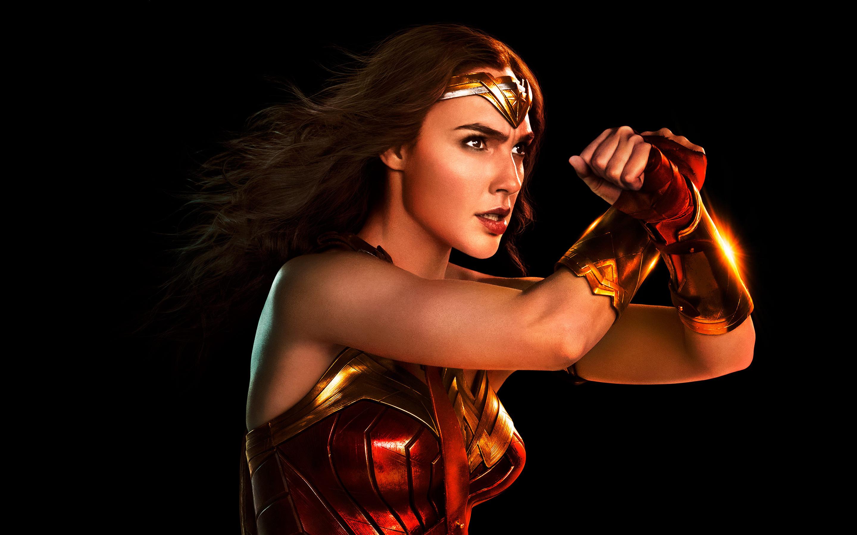 Чудо женщина Лига справедливости обои скачать