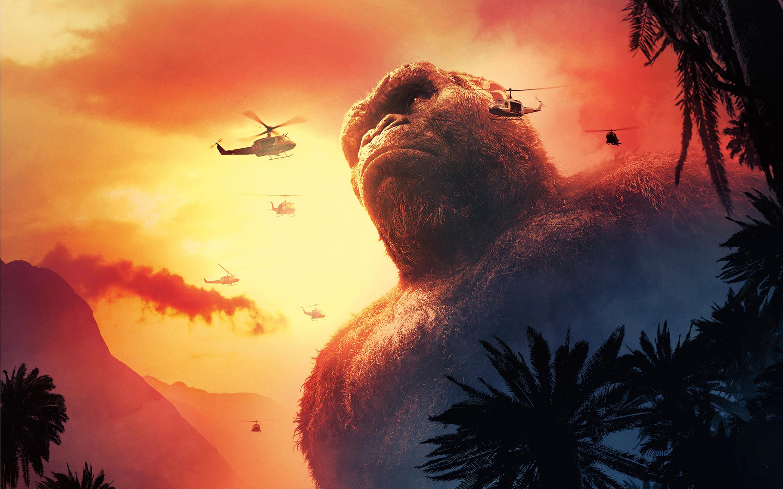 Kong skull island 2017. обои скачать