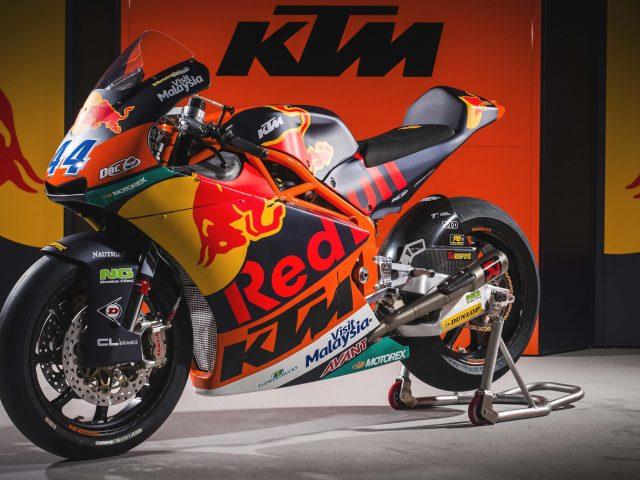 Велосипед команды motogp KTM moto2