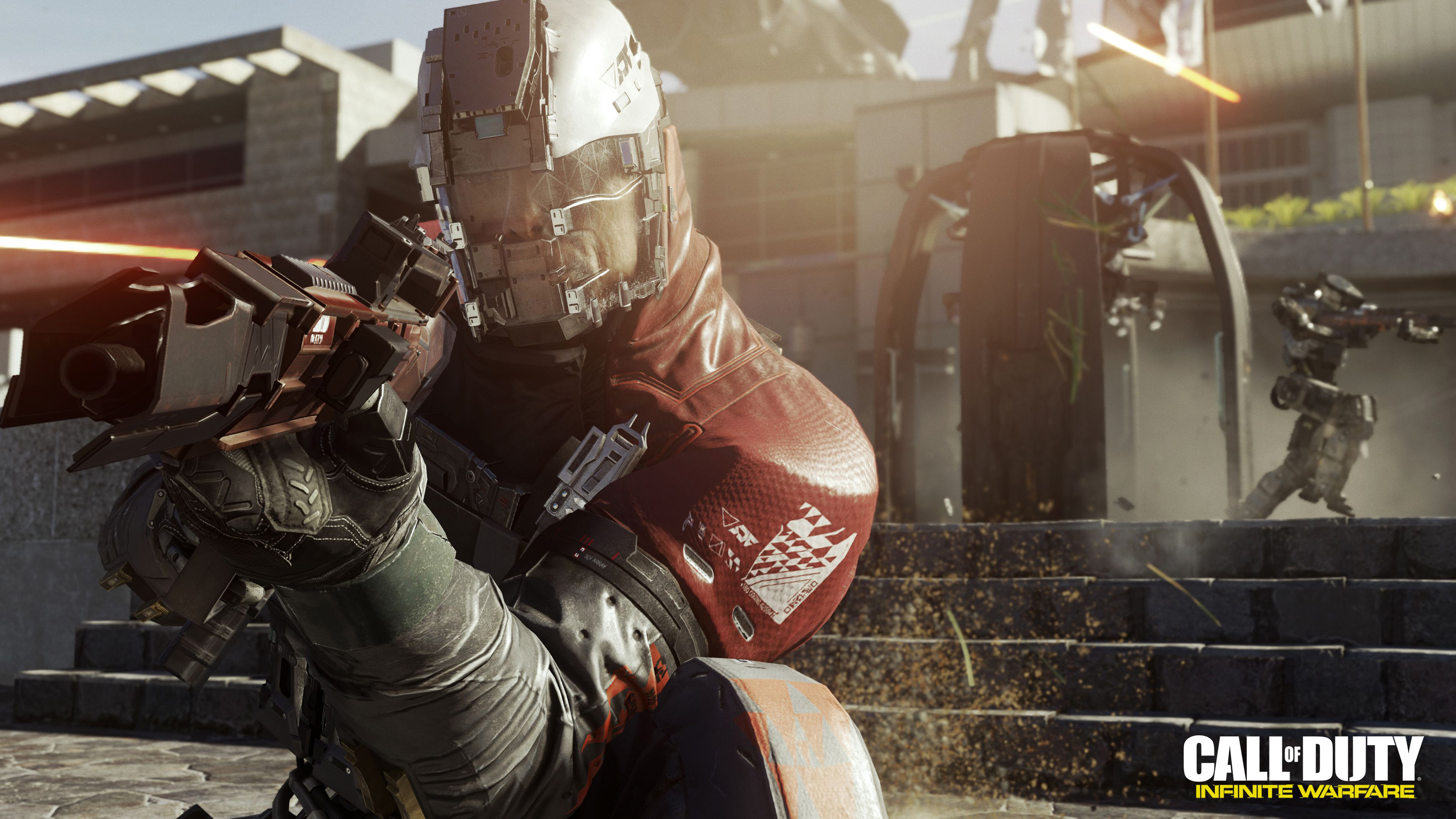 Зов долга бесконечной войны на Xbox. обои скачать