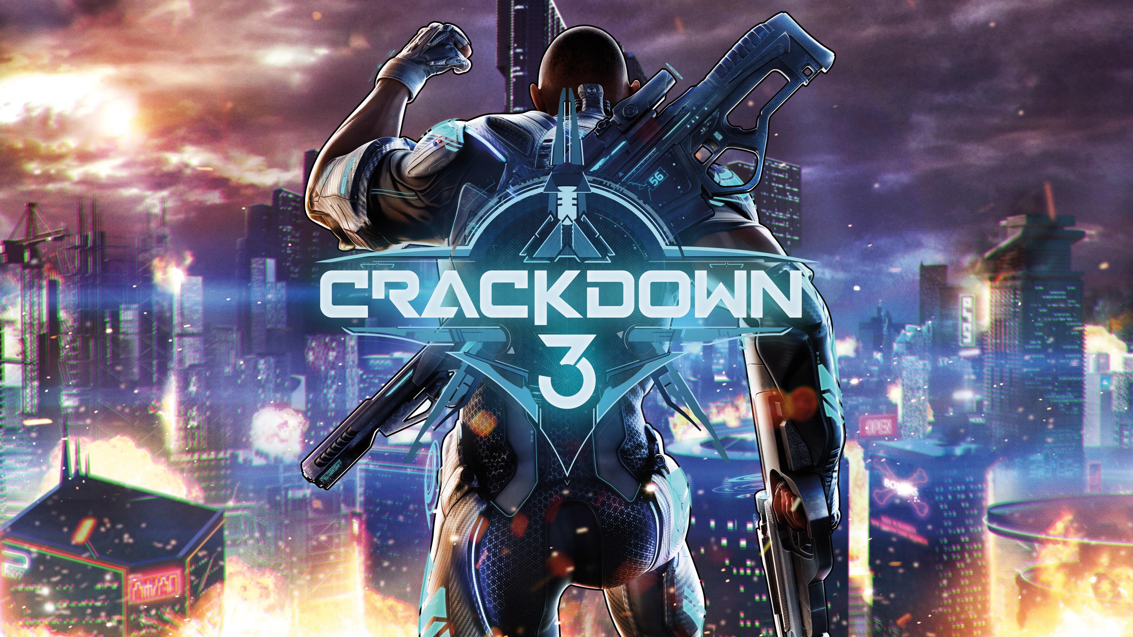 Crackdown 3 Xbox один обои скачать