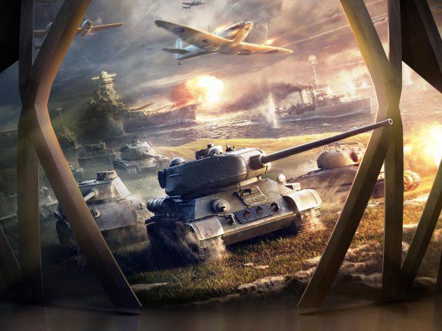 Мир танков блиц 4к