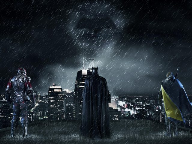 Бэтмен Готэм-Сити.