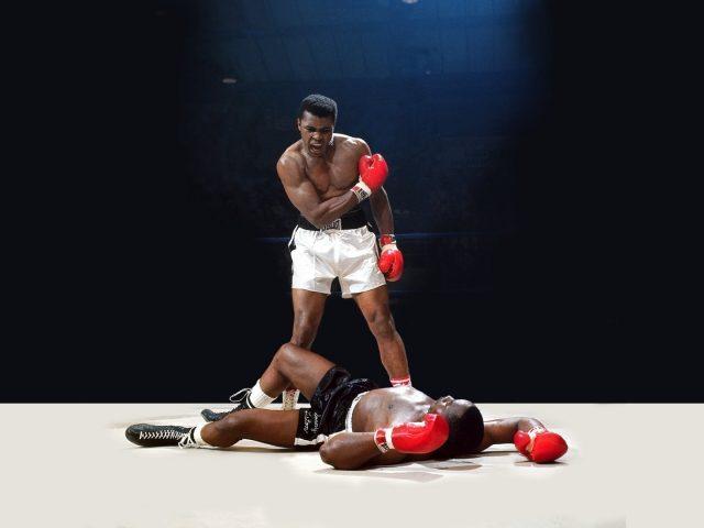 Мухаммед Али боксер.