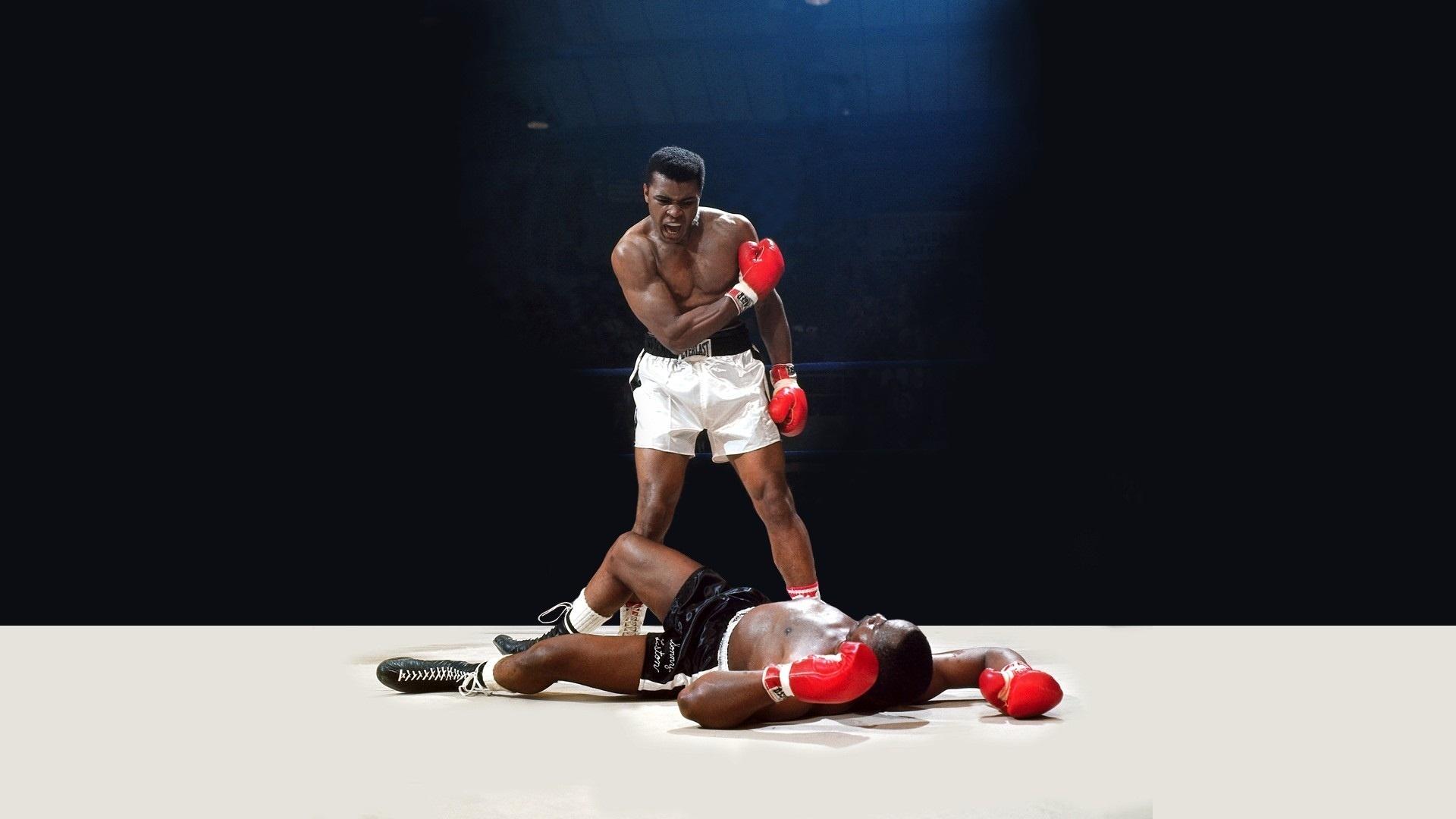 Мухаммед Али боксер. обои скачать