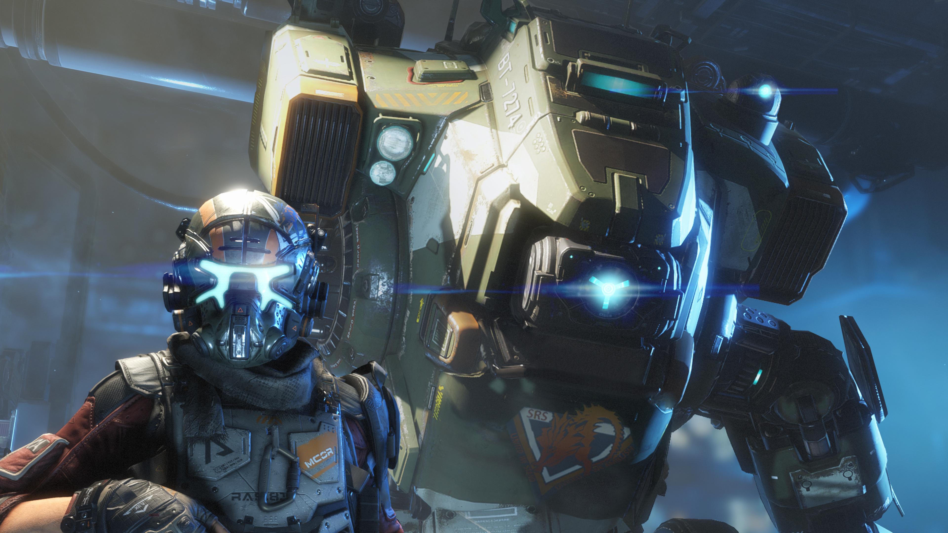 Titanfall 2 Титан & пилот обои скачать