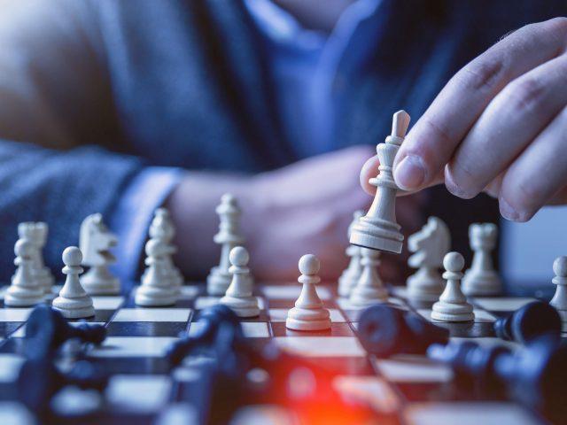 Шахматная пешка королева тактика
