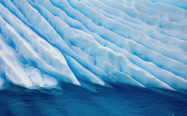 Ледник океан. обои скачать