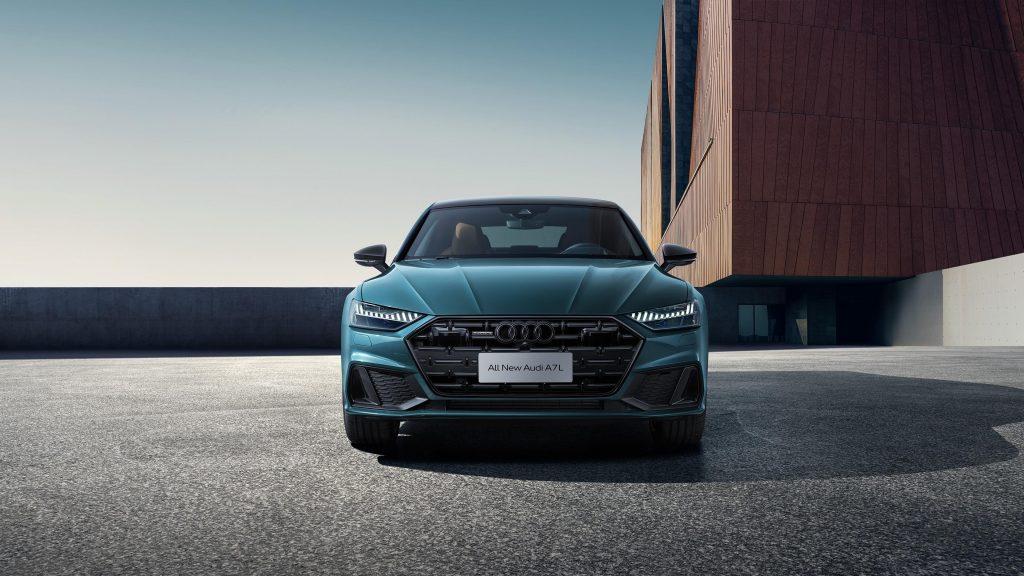 Audi a7l 55 tfsi quattro s line edition one 2021 автомобили обои скачать