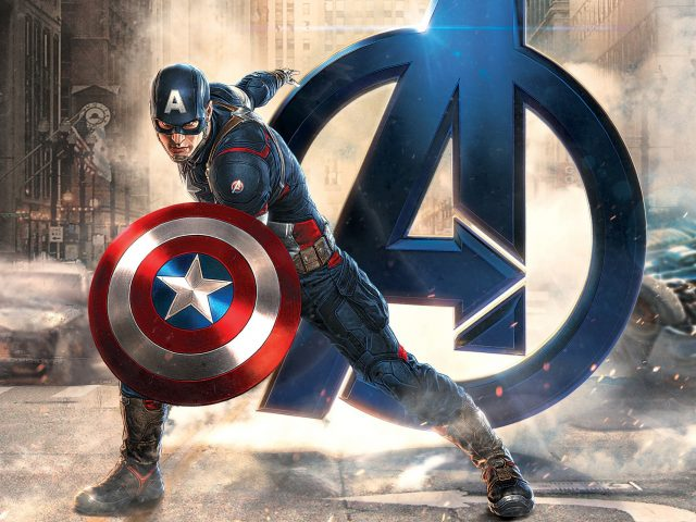 Капитан Америка мстители