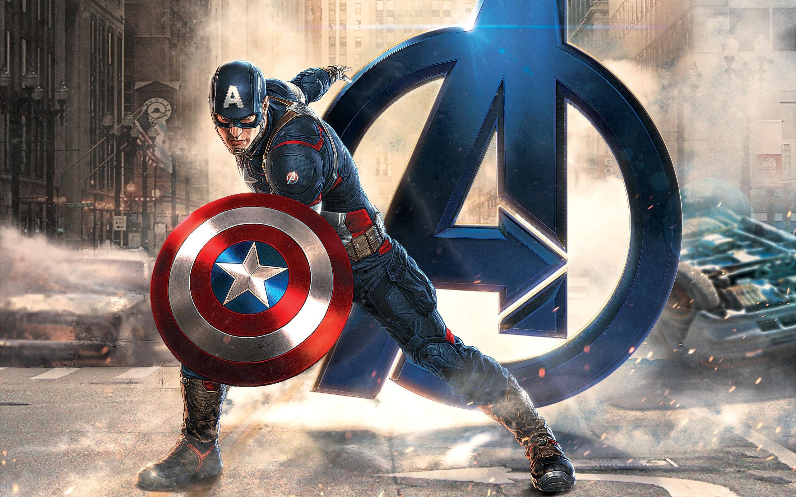 Капитан Америка мстители обои скачать