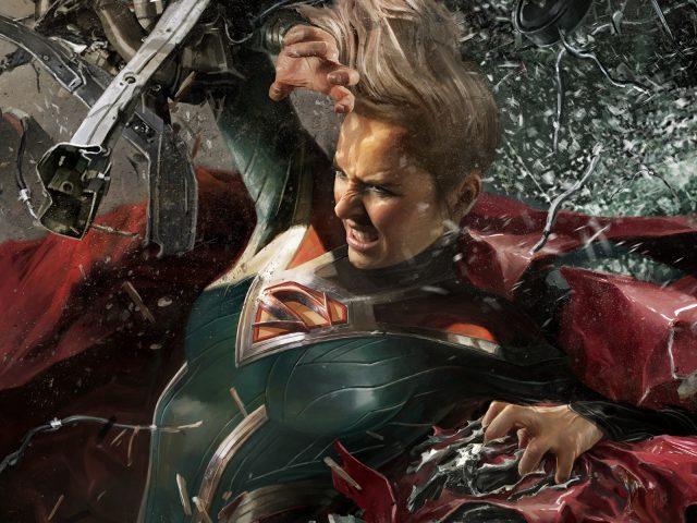Супергерл несправедливость 2.