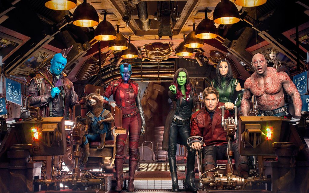 Guardians of the galaxy vol 2 cast. обои скачать
