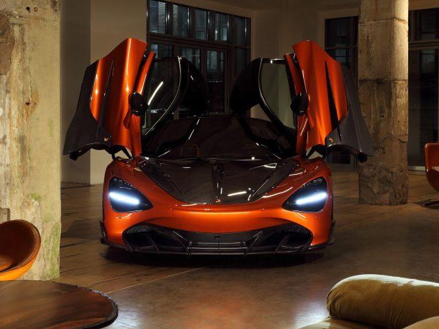Топовый автомобиль mclaren 720s fury 2021 3 автомобиля