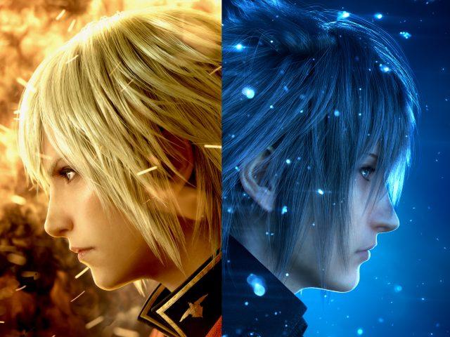 Ace noctis final fantasy xv final fantasy type 0.