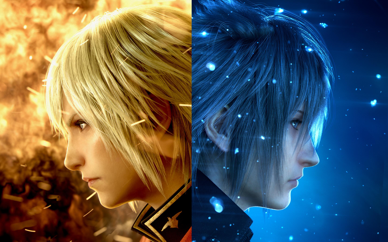 Ace noctis final fantasy xv final fantasy type 0. обои скачать