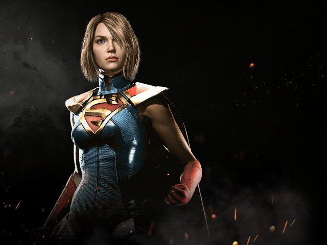Supergirl in injustice 2.