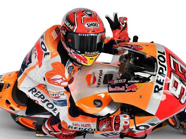 «репсоль» Хонды Марк Маркес MotoGP в