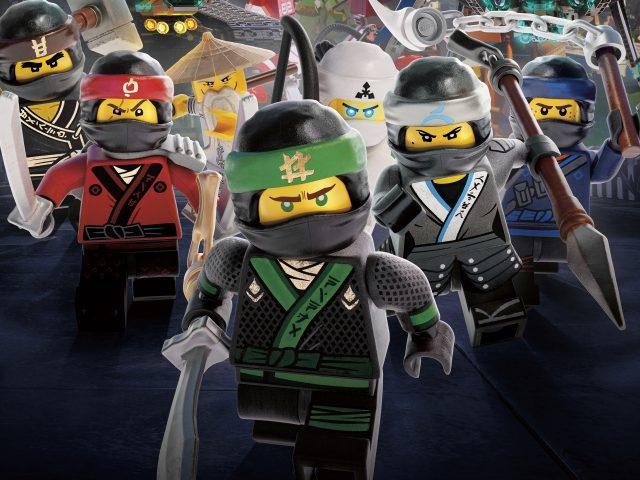 Воины ниндзя Лего ниндзяго