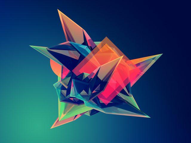 Сплошные абстрактные цвета.