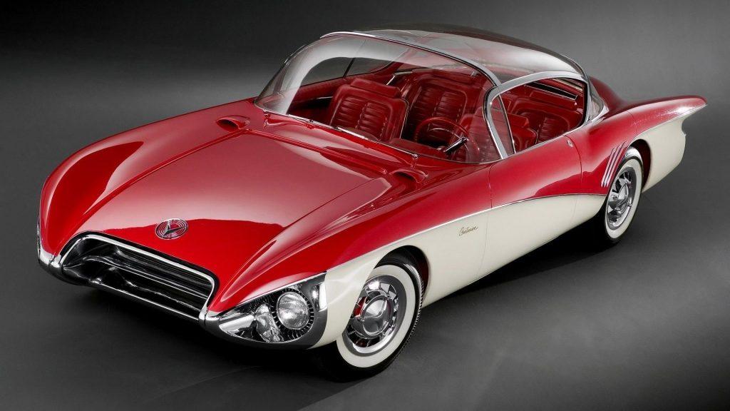 Красно-белый buick centurion concept sport двухцветный автомобиль автомобили обои скачать