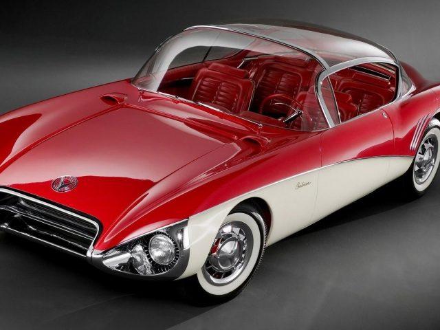 Красно-белый buick centurion concept sport двухцветный автомобиль автомобили