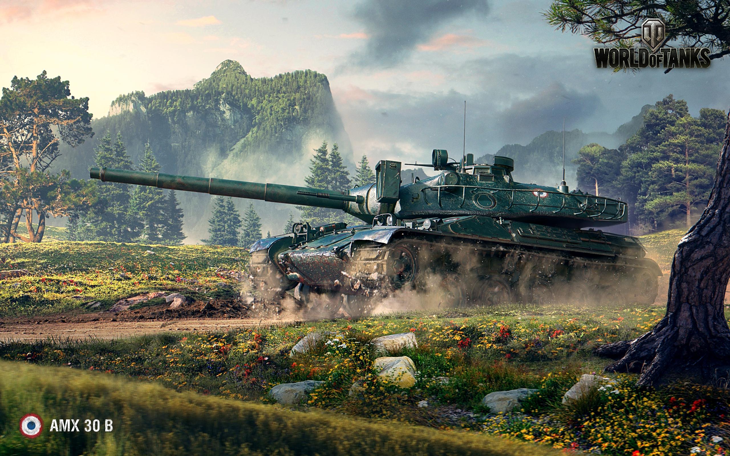 Амх 30б Мир танков. обои скачать