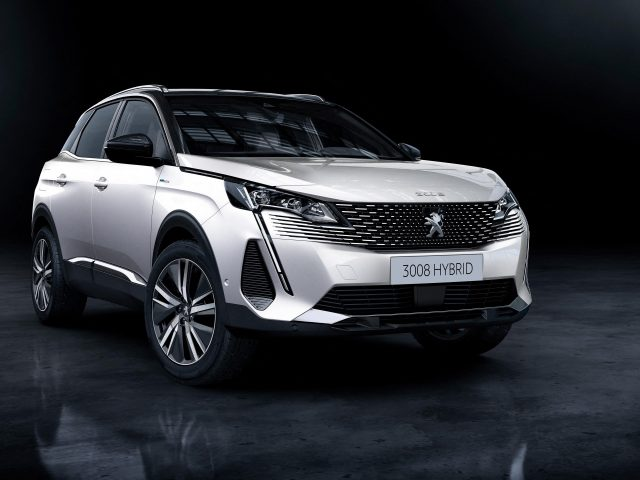 Peugeot 3008 hybrid4 2020 автомобили