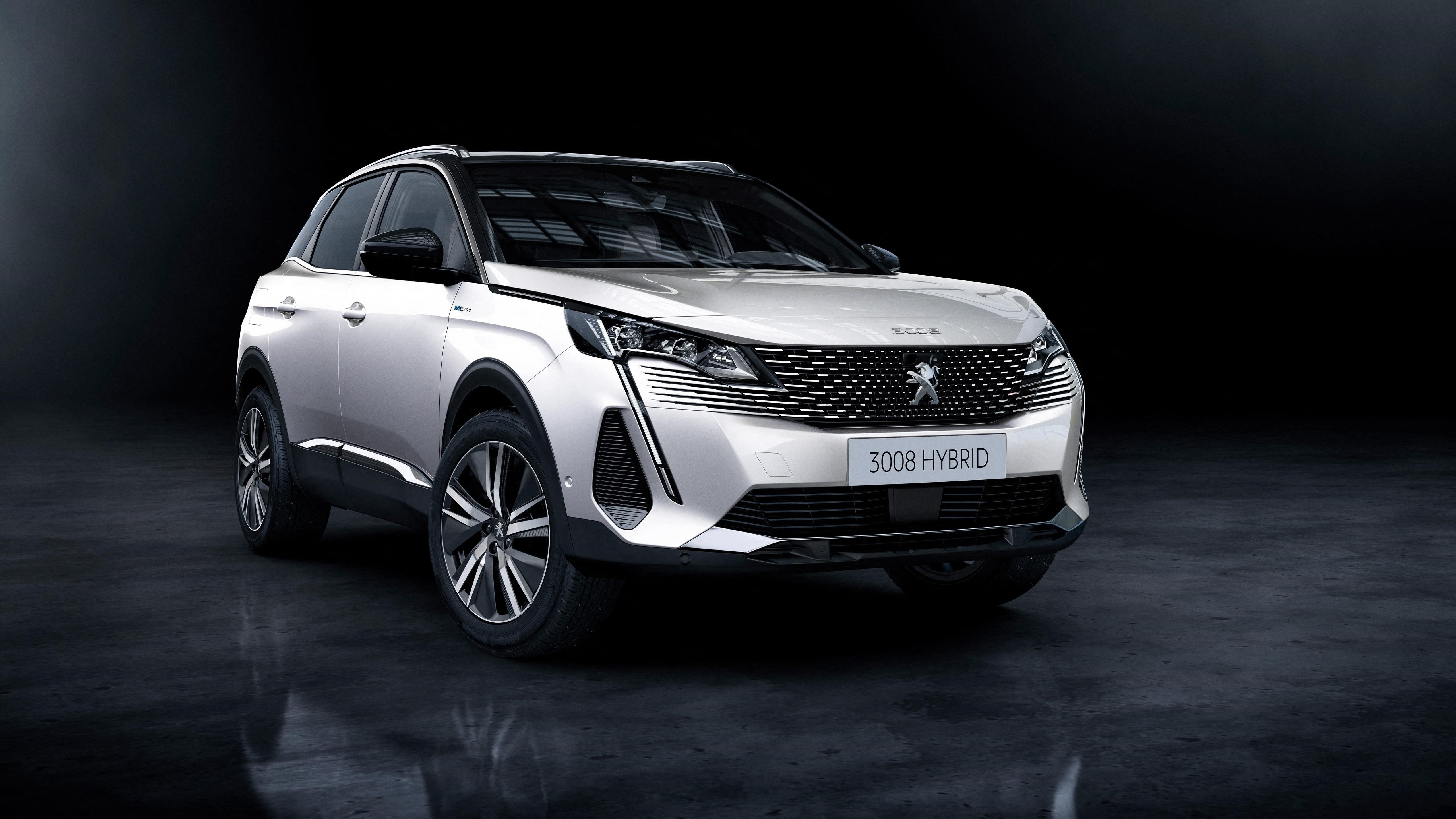 Peugeot 3008 hybrid4 2020 автомобили обои скачать