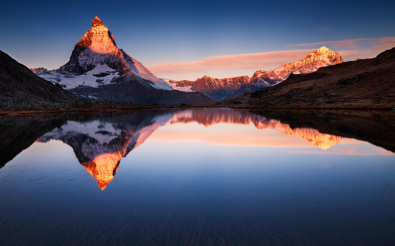 Озеро горы размышления. обои скачать
