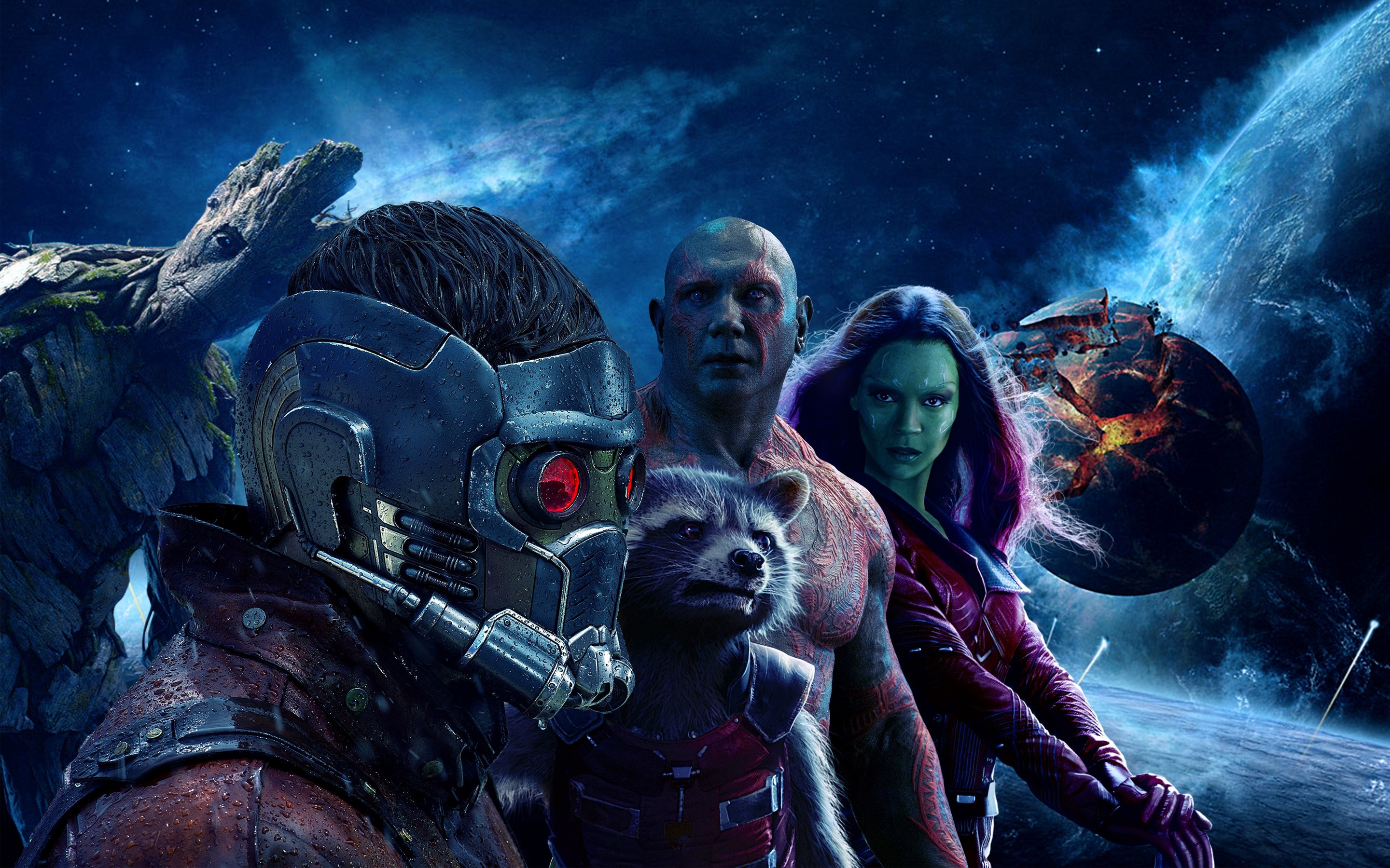 Guardians of the galaxy vol 2 2017. обои скачать