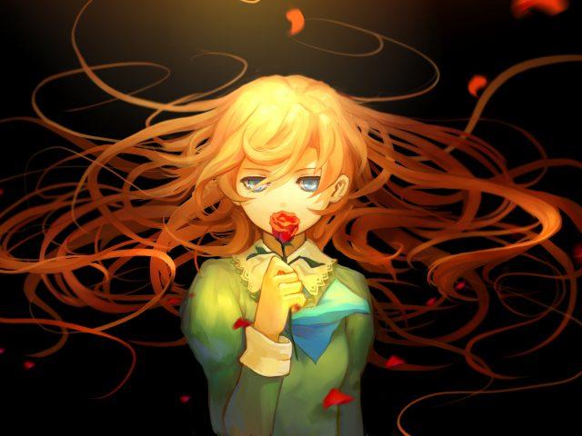Мери ПБ аниме девушка.