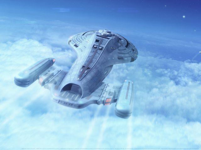 Корабль звезда Trek: Вояджер
