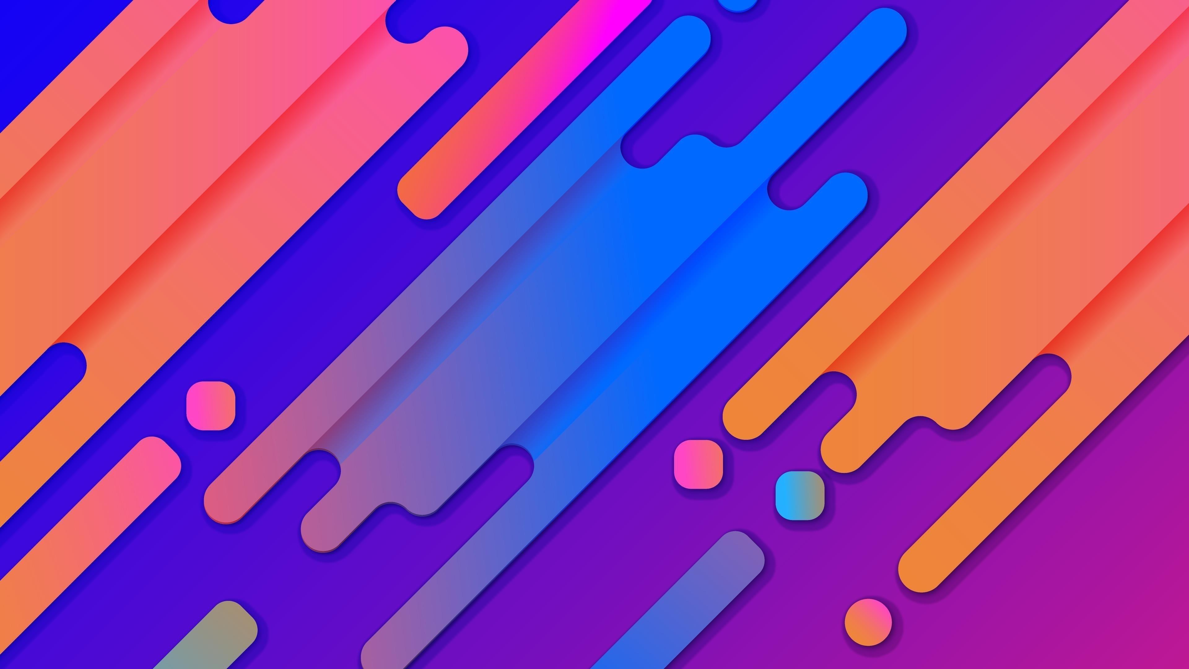 Абстрактные цвета обои скачать