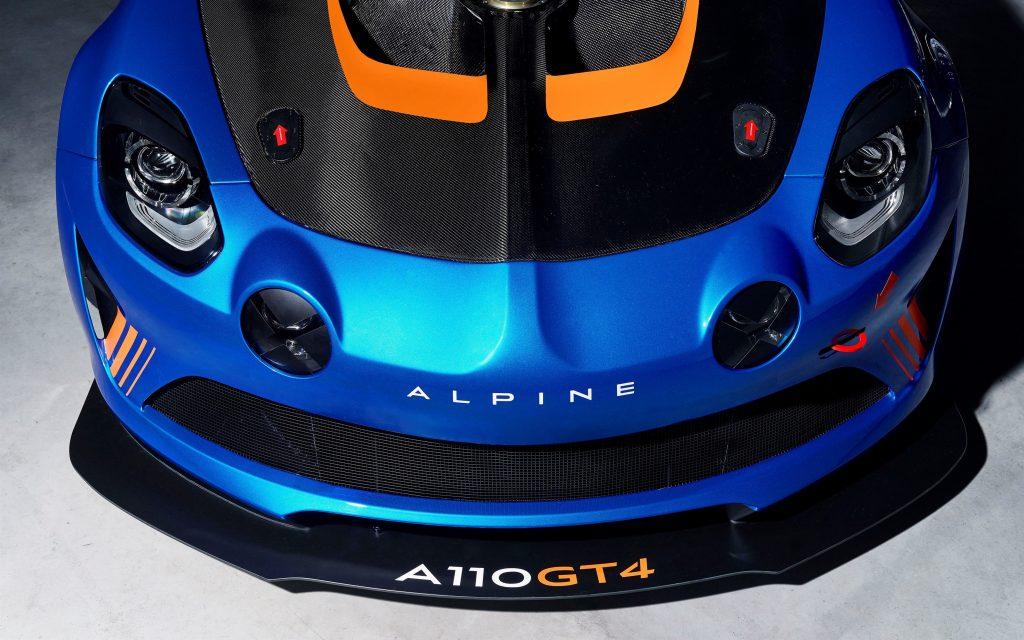 Alpine a110 gt4 женевский автосалон обои скачать