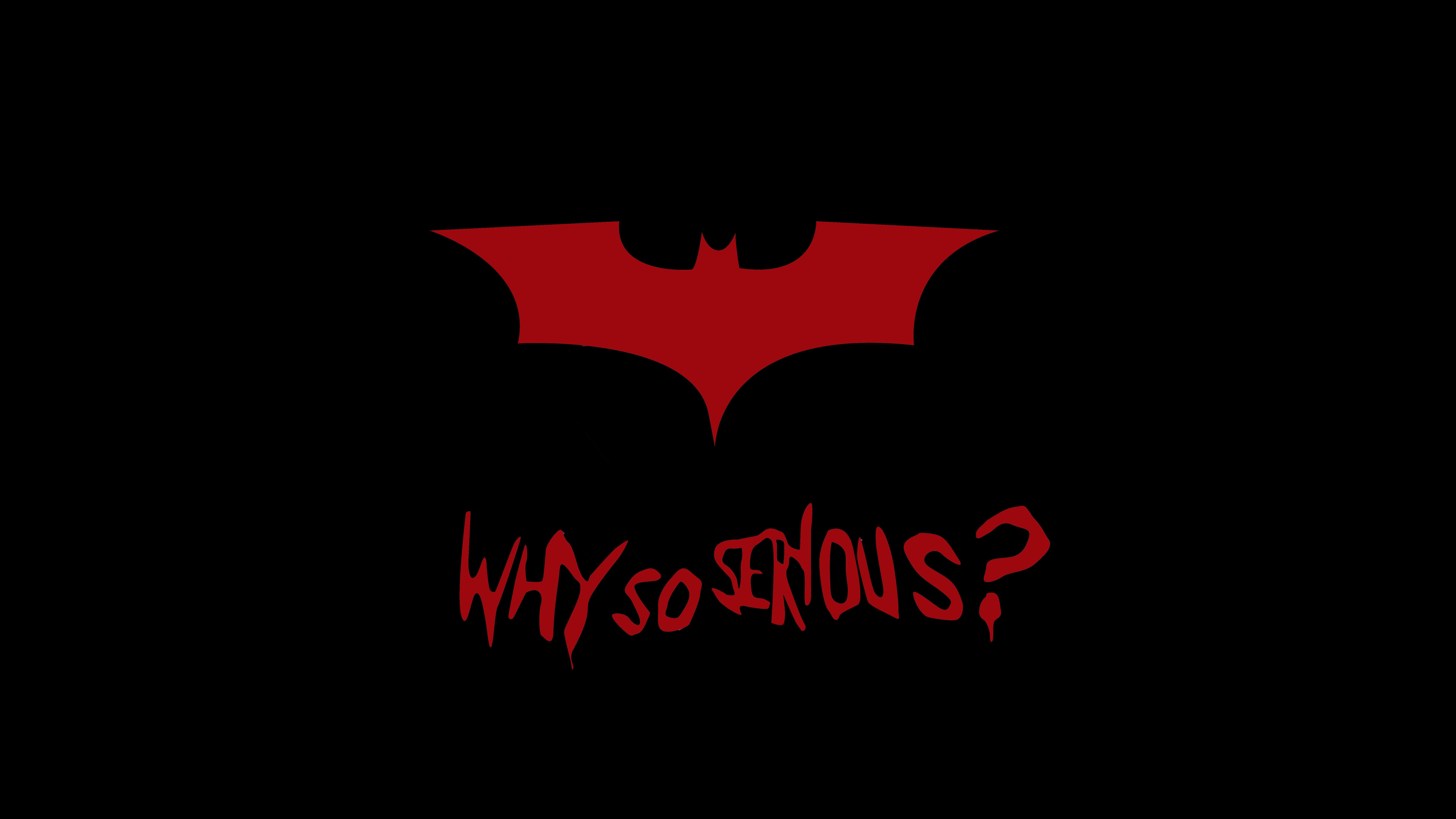 Бэтмен почему так серьезно обои скачать
