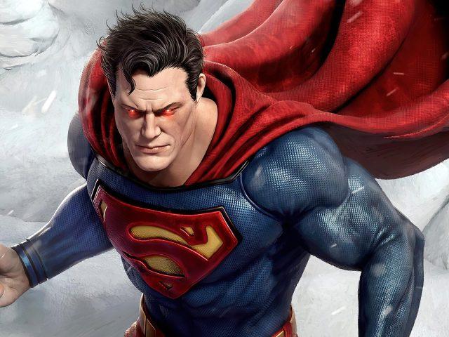 Супермен бесконечные зимние супергерои