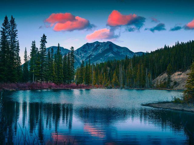 Гора Лоретт пруды пейзаж