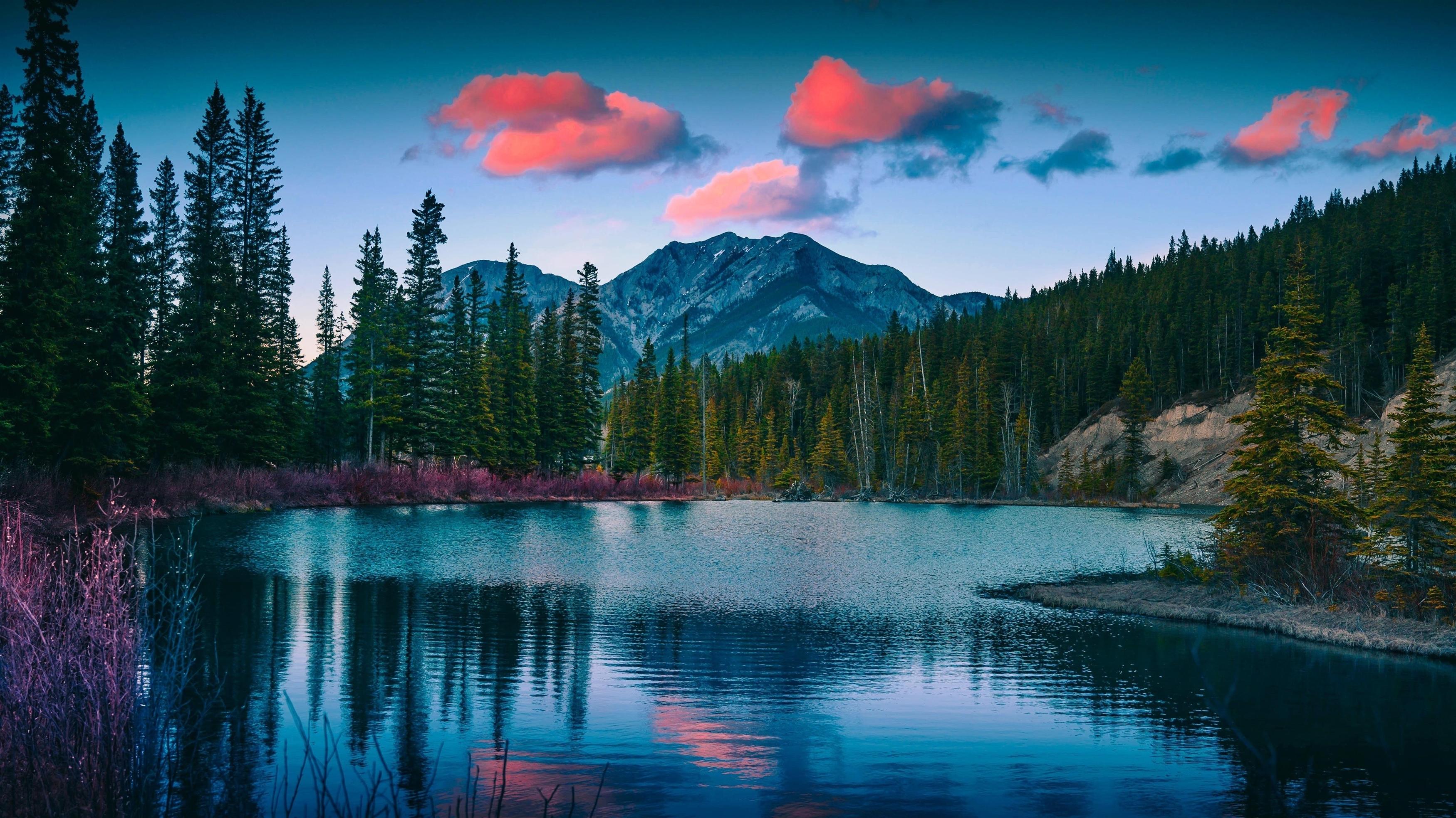 Гора Лоретт пруды пейзаж обои скачать
