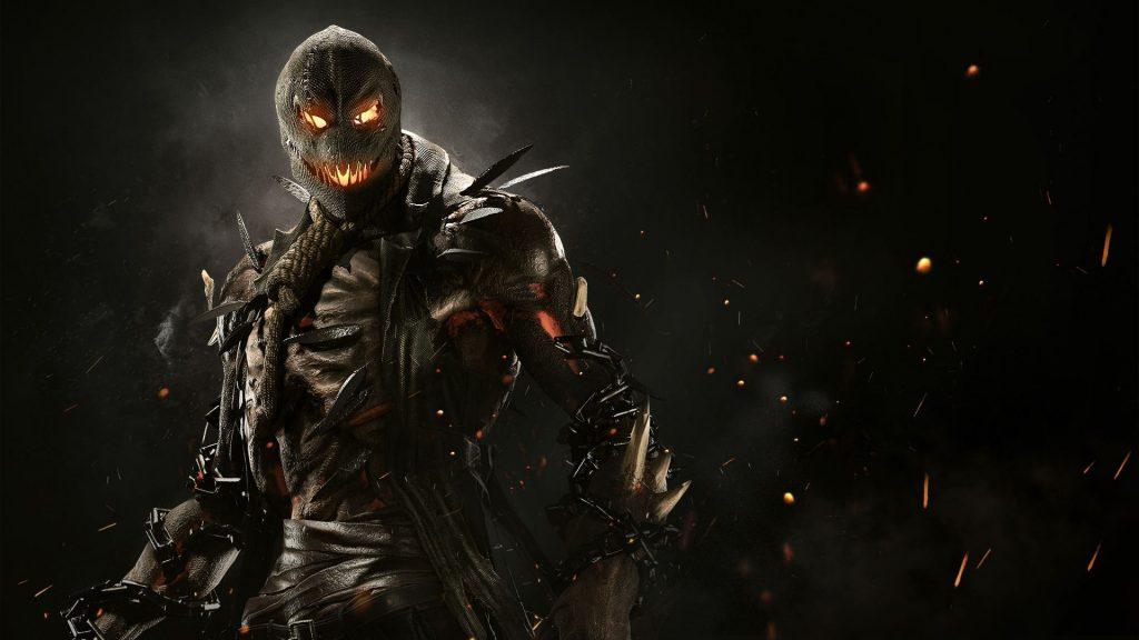 Scarecrow in injustice 2. обои скачать