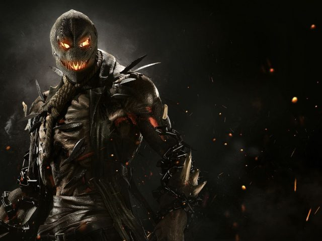 Scarecrow in injustice 2.