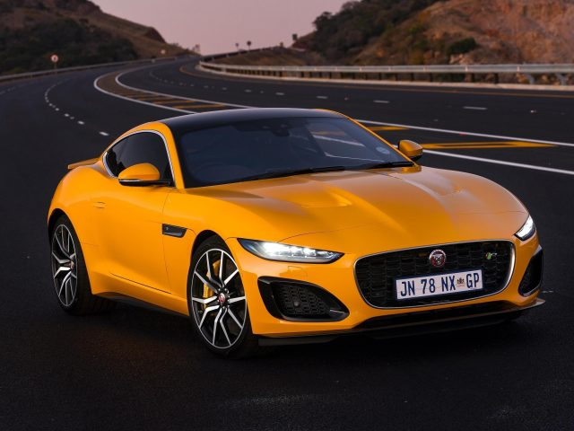 Автомобили jaguar f-type r coupé 2020