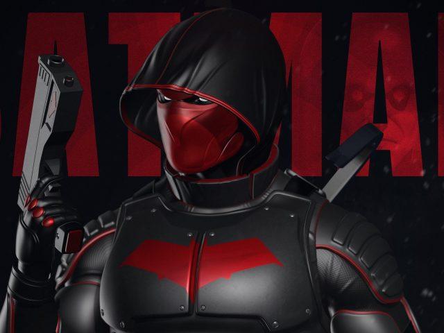 Красный капюшон пистолет супергерои