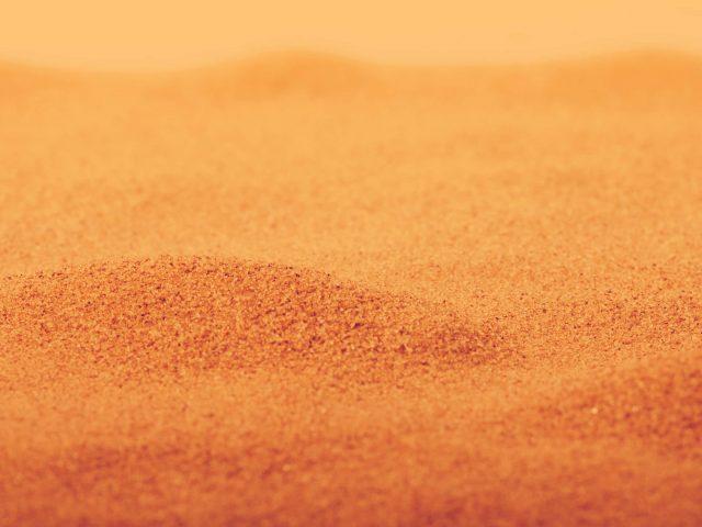 Песок макрос