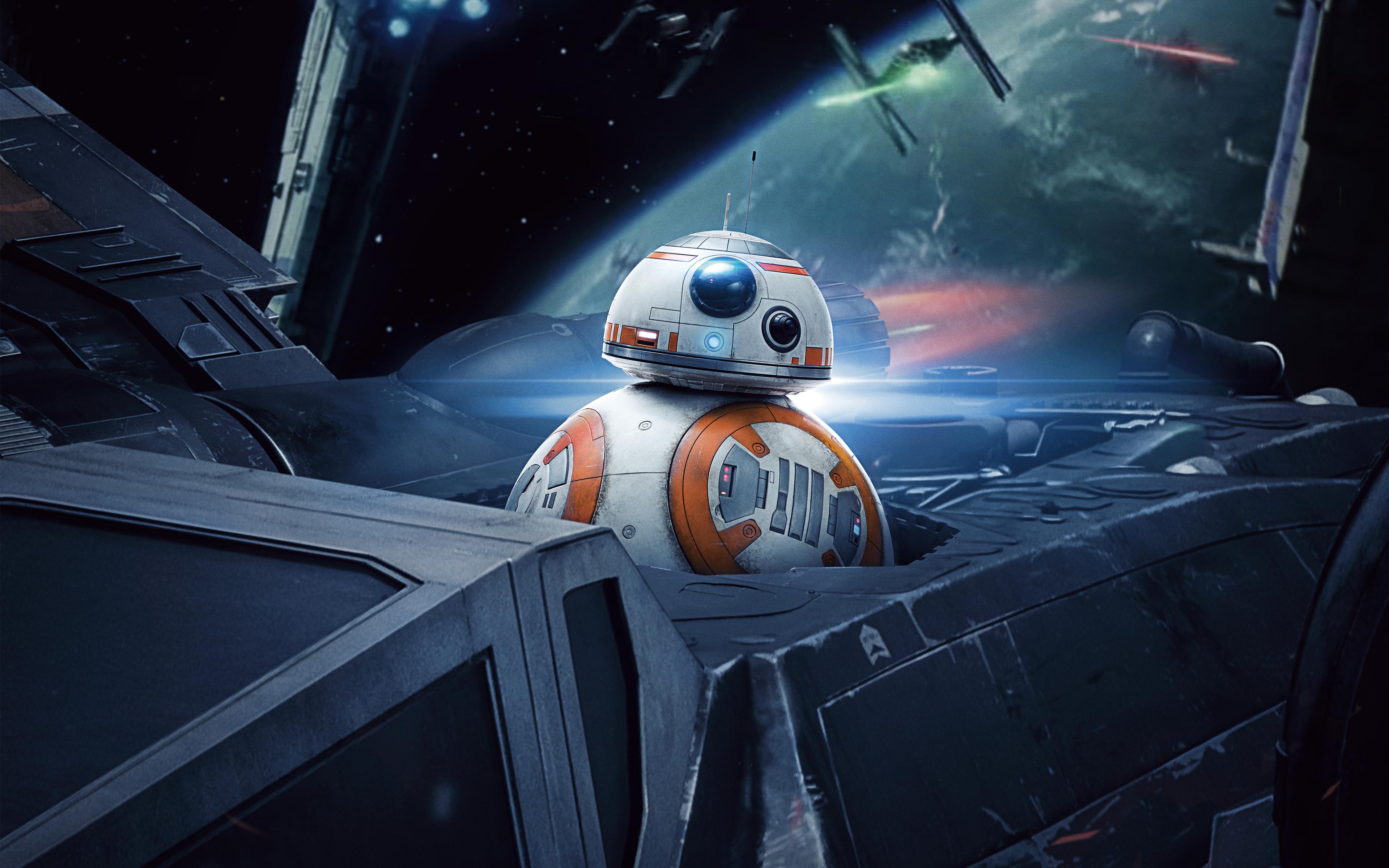 Вв-8 Звездные войны последний джедай обои скачать