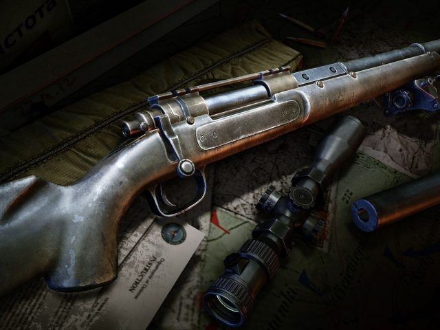 Remington MSR,  оружие,  снайперская винтовка,  прицел